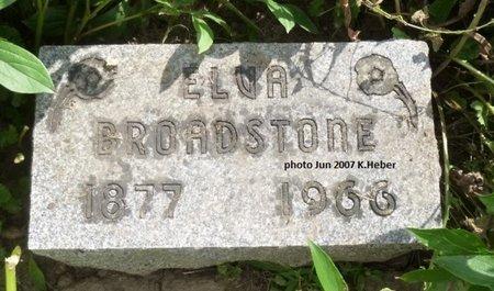 LOUDENBACK BROADSTONE, ELVA ANN - Champaign County, Ohio   ELVA ANN LOUDENBACK BROADSTONE - Ohio Gravestone Photos