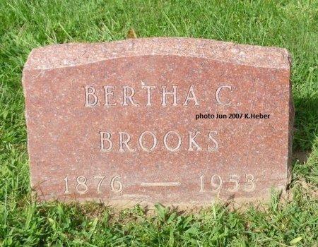 ORMSBY BROOKS, BERTHA C - Champaign County, Ohio | BERTHA C ORMSBY BROOKS - Ohio Gravestone Photos