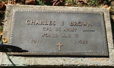 BROWN, CHARLES IRA - Champaign County, Ohio   CHARLES IRA BROWN - Ohio Gravestone Photos