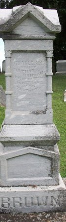 BROWN, CHARLES M - Champaign County, Ohio   CHARLES M BROWN - Ohio Gravestone Photos