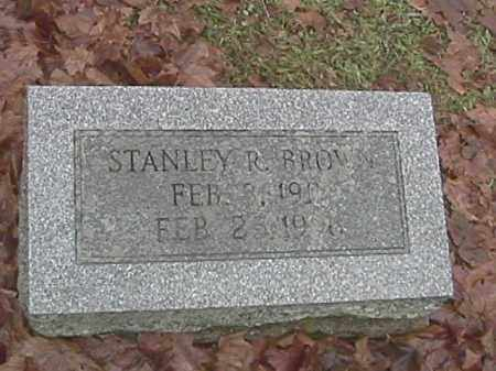 BROWN, STANLEY R. - Champaign County, Ohio | STANLEY R. BROWN - Ohio Gravestone Photos