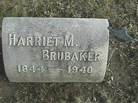 MANNING BRUBAKER, HARRIET M. - Champaign County, Ohio | HARRIET M. MANNING BRUBAKER - Ohio Gravestone Photos