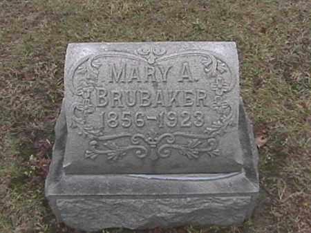 BRUBAKER, MARY A. WIEBEL - Champaign County, Ohio   MARY A. WIEBEL BRUBAKER - Ohio Gravestone Photos