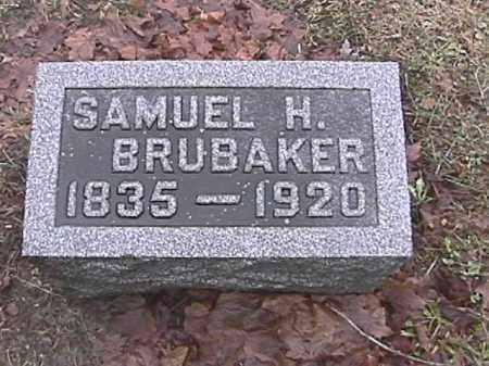 BRUBAKER, SAMUEL H. - Champaign County, Ohio   SAMUEL H. BRUBAKER - Ohio Gravestone Photos