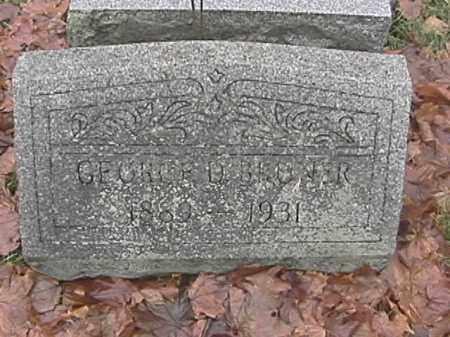 BRUNER, GEORGE O. - Champaign County, Ohio | GEORGE O. BRUNER - Ohio Gravestone Photos