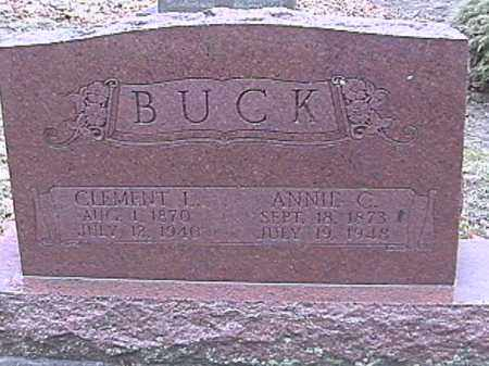 BUCK, CLEMENT L. - Champaign County, Ohio | CLEMENT L. BUCK - Ohio Gravestone Photos