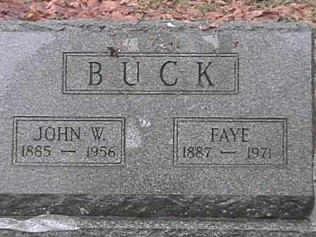 BUCK, FAYE GOODE - Champaign County, Ohio | FAYE GOODE BUCK - Ohio Gravestone Photos