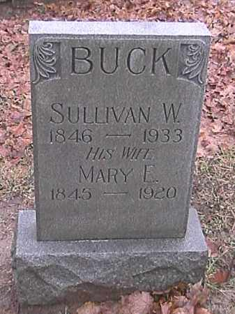 BUCK, MARY E. - Champaign County, Ohio | MARY E. BUCK - Ohio Gravestone Photos