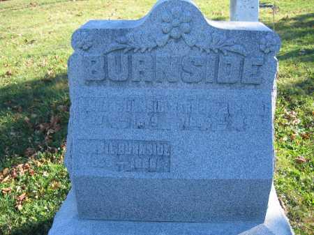 BURNSIDE, ANDREW - Champaign County, Ohio | ANDREW BURNSIDE - Ohio Gravestone Photos
