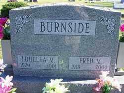 BURNSIDE, FRED M - Champaign County, Ohio   FRED M BURNSIDE - Ohio Gravestone Photos