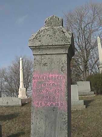 BUROKER, NOAH - Champaign County, Ohio | NOAH BUROKER - Ohio Gravestone Photos