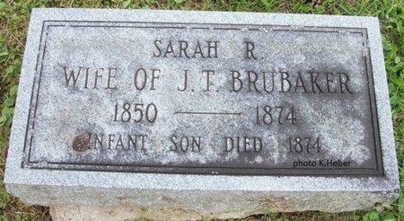 BUROKER, SARAH R - Champaign County, Ohio | SARAH R BUROKER - Ohio Gravestone Photos