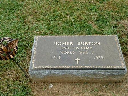 BURTON, HOMER - Champaign County, Ohio   HOMER BURTON - Ohio Gravestone Photos