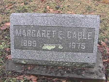 CABLE, MARGARET E. SNAPP - Champaign County, Ohio | MARGARET E. SNAPP CABLE - Ohio Gravestone Photos