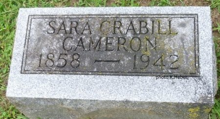 CAMERON, SARA - Champaign County, Ohio   SARA CAMERON - Ohio Gravestone Photos