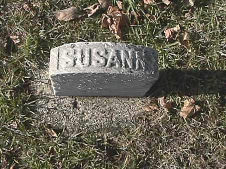 CAMPBELL, SUSANN - Champaign County, Ohio | SUSANN CAMPBELL - Ohio Gravestone Photos