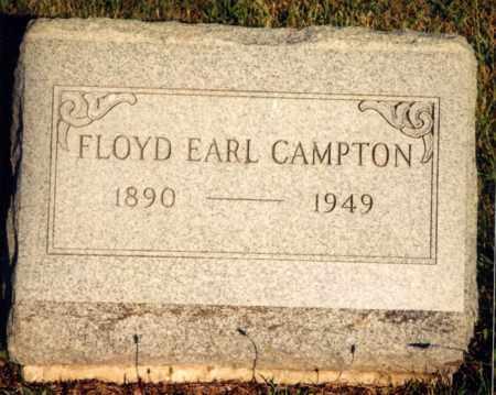 CAMPTON, FLOYD EARL - Champaign County, Ohio | FLOYD EARL CAMPTON - Ohio Gravestone Photos