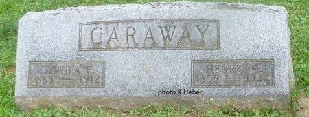 WIKOFF CARAWAY, CYNTHIA ELIZABETH - Champaign County, Ohio | CYNTHIA ELIZABETH WIKOFF CARAWAY - Ohio Gravestone Photos