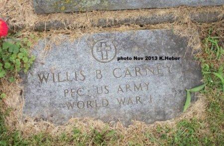CARNEY, WILLIS BURTON - Champaign County, Ohio | WILLIS BURTON CARNEY - Ohio Gravestone Photos