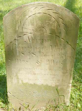 CARY, ABRAM - Champaign County, Ohio | ABRAM CARY - Ohio Gravestone Photos