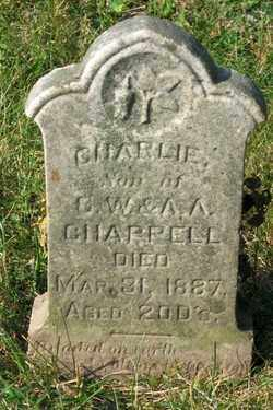 CHAPPELL, CHARLIE - Champaign County, Ohio | CHARLIE CHAPPELL - Ohio Gravestone Photos