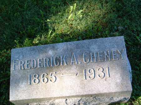 CHENEY, FREDERICK AMBROSE - Champaign County, Ohio | FREDERICK AMBROSE CHENEY - Ohio Gravestone Photos
