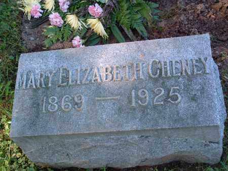 "CHENEY, MARY ELIZABETH ""LIZZY"" - Champaign County, Ohio 