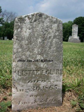 CLARK, LESTER F - Champaign County, Ohio | LESTER F CLARK - Ohio Gravestone Photos