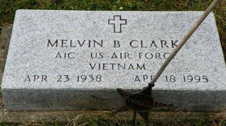 CLARK, MELVIN B. - Champaign County, Ohio   MELVIN B. CLARK - Ohio Gravestone Photos