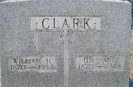 CLARK, IDA JANE - Champaign County, Ohio   IDA JANE CLARK - Ohio Gravestone Photos