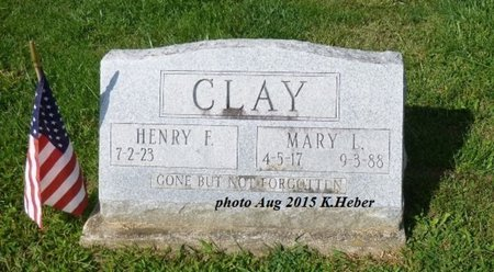 CLAY, HENRY FORD - Champaign County, Ohio   HENRY FORD CLAY - Ohio Gravestone Photos
