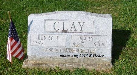 JONES CLAY, MARY LUCILLE - Champaign County, Ohio | MARY LUCILLE JONES CLAY - Ohio Gravestone Photos