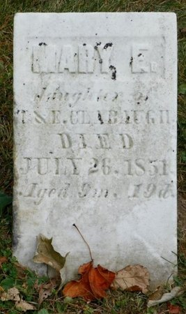 CLAYBAUGH, MARY E. - Champaign County, Ohio | MARY E. CLAYBAUGH - Ohio Gravestone Photos