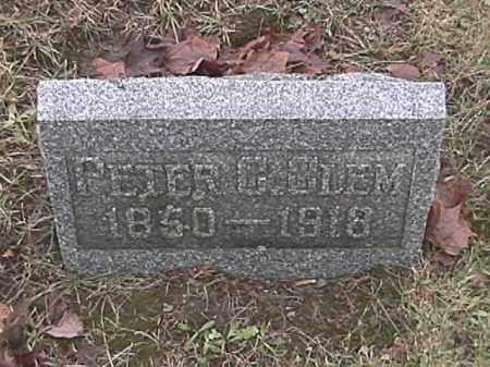 CLEM, PETER C. - Champaign County, Ohio | PETER C. CLEM - Ohio Gravestone Photos