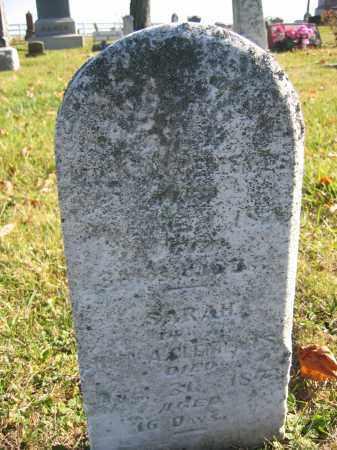 CLEMENTS, SARAH - Champaign County, Ohio | SARAH CLEMENTS - Ohio Gravestone Photos