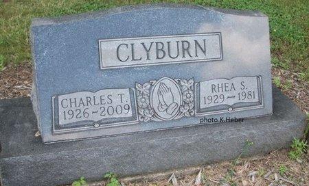 CLYBURN, CHARLES THOMAS - Champaign County, Ohio   CHARLES THOMAS CLYBURN - Ohio Gravestone Photos