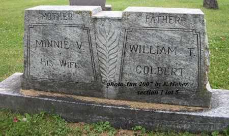 COLBERT, MINNIE VICTORIA - Champaign County, Ohio | MINNIE VICTORIA COLBERT - Ohio Gravestone Photos