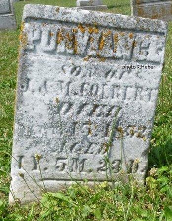 COLBERT, PURVIANCE - Champaign County, Ohio   PURVIANCE COLBERT - Ohio Gravestone Photos