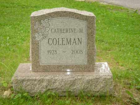 "COLEMAN, CATHERINE M. ""KATE"" - Champaign County, Ohio | CATHERINE M. ""KATE"" COLEMAN - Ohio Gravestone Photos"