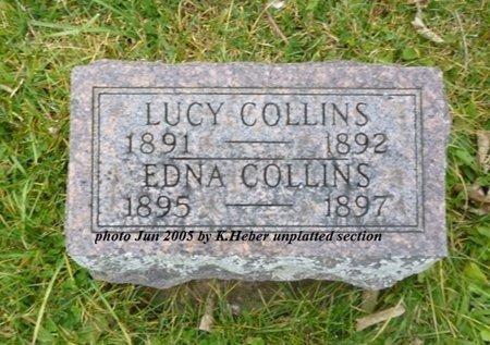 COLLINS, EDNA ESTELLA - Champaign County, Ohio | EDNA ESTELLA COLLINS - Ohio Gravestone Photos