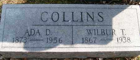 COLLINS, ADA D. APPLE - Champaign County, Ohio | ADA D. APPLE COLLINS - Ohio Gravestone Photos