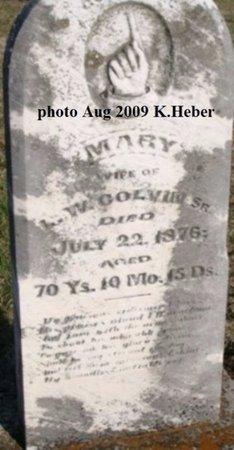 COLVIN, MARY - Champaign County, Ohio | MARY COLVIN - Ohio Gravestone Photos
