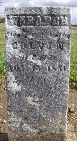 COLVIN, WILLIAM RAPER - Champaign County, Ohio | WILLIAM RAPER COLVIN - Ohio Gravestone Photos