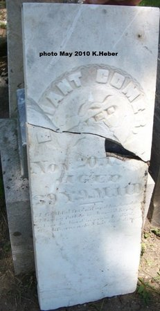 COMER, BRIANT/BRYANT - Champaign County, Ohio | BRIANT/BRYANT COMER - Ohio Gravestone Photos