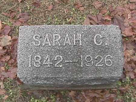 COMER, SARAH C. - Champaign County, Ohio | SARAH C. COMER - Ohio Gravestone Photos