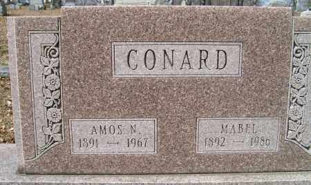 CONARD, AMOS N. - Champaign County, Ohio | AMOS N. CONARD - Ohio Gravestone Photos