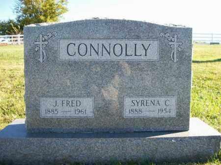 CONNOLLY, J FRED - Champaign County, Ohio | J FRED CONNOLLY - Ohio Gravestone Photos