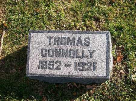CONNOLLY, THOMAS - Champaign County, Ohio   THOMAS CONNOLLY - Ohio Gravestone Photos