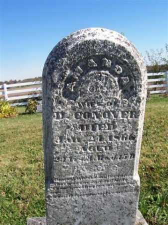 CONOVER, AMANDA - Champaign County, Ohio | AMANDA CONOVER - Ohio Gravestone Photos