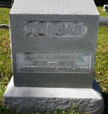 CONRAD, ALLIE E. - Champaign County, Ohio | ALLIE E. CONRAD - Ohio Gravestone Photos